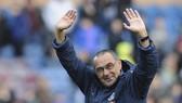 HLV Maurizio Sarri đã chính thức chia tay Chelsea chỉ sau một năm. Ảnh: Getty Images