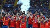Tây Ban Nha đăng quang U.21 châu Âu lần thứ 2 trong 3 kỳ giải gần nhất. Ảnh: Getty Images