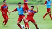 U22 Việt Nam đang tích cực chuẩn bị cho  SEA Games . Ảnh: MINH HOÀNG
