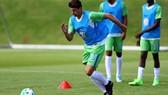 Mario Gomez đang tập luyện cật lực cùng các đồng đội để chuẩn bị cho mùa bóng mớI.