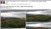 Đối tượng tung tin đồn vụ máy bay rơi ở Nội Bài lên mạng xã hội đang bị đề nghị xử phạt từ 10-20 triệu đồng