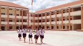 Trường THCS Tân Túc khang trang trên vùng đất truyền thống
