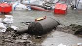 Một quả bom còn sót lại từ Thế chiến 2 được tìm thấy tại Đức năm 2011. Ảnh HOLGER WEINANDT/ WIKIMEDIA COMMONS