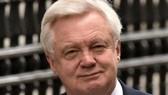Bộ trưởng phụ trách vấn đề Brexit của Anh David Davis. Ảnh: AP