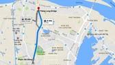 Cầu cạn Mai Dịch - Nam Thăng Long dài hơn 5km. Ảnh: GOOGLE MAPS