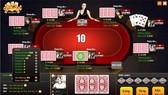 Một phiên đặt cược trong game đánh bài