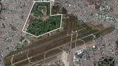Sân bay Tân Sơn Nhất. Ảnh: GOOGLE MAPS