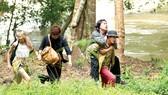 Một cảnh trong phim Lật mặt: Ba chàng khuyết của đạo diễn Lý Hải