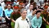 """Bị cáo Nguyễn Xuân Sơn đã bị tuyên phạt bản án tử hình trong phiên tòa sơ thẩm xét xử """"đại án"""" ở OceanBank"""