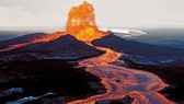 Hình ảnh núi lửa Kilauea tại Hawaii phun trào. Ảnh: CNN