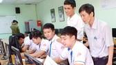 Sinh viên Trường Cao đẳng Lý Tự Trọng trong giờ thực hành