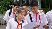Thí sinh tham gia kỳ thi tuyển sinh lớp 10 năm học 2018-2019. Ảnh: HOÀNG HÙNG