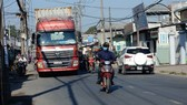 Đường Nguyễn Duy Trinh hiện đang quá tải