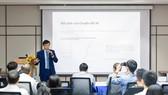 Quang cảnh buổi Hội thảo Chuyển đổi kinh tế số Việt Nam trong cách mạng công nghiệp (CMCN) 4.0
