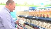Nhiều sản phẩm nước ép trái cây đang được người tiêu dùng ưa chuộng