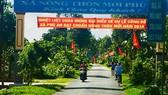 Xã An Phú của huyện Châu Thành, Hậu Giang đạt chuẩn NTM năm 2018