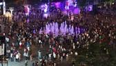 Lễ hội đón năm mới trên Phố đi bộ Nguyễn Huệ