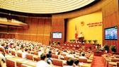 Quang cảnh một phiên họp Quốc hội