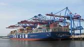 Khu cảng Cái Mép - Thị Vải đón siêu tàu container hàng tuần