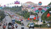 Những năm gần đây tỉnh Đắk Nông tập trung đầu tư cơ sở hạ tầng                                      phục vụ phát triển kinh tế - xã hội.  Ảnh: MAI CƯỜNG