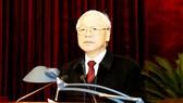 Tổng Bí thư, Chủ tịch nước Nguyễn Phú Trọng phát biểu chỉ đạo Hội nghị. Ảnh: TTXVN