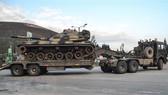 Binh sĩ Thổ Nhĩ Kỳ triển khai tại khu vực Hatay gần biên giới với Syria ngày 12-1-2019. Nguồn: TTXVN