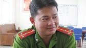 Thiếu tá Huỳnh Văn Tuấn (lúc ghi ảnh còn mang hàm Thượng úy)