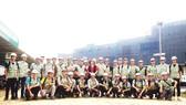Công ty CP Tập đoàn Xây dựng Hòa Bình tổ chức tham quan công trình cho sinh viên Đại học Xây dựng