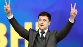 Tổng thống vừa đắc cử Ukraine Volodymyr Zelenskiy. Ảnh: REUTERS