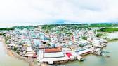 Thị trấn Cần Thạnh, huyện Cần Giờ                . Ảnh: HOÀNG HÙNG