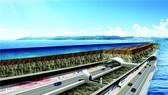 Toàn bộ quốc lộ 77 sẽ chính thức được thông xe vào cuối năm 2021. Ảnh: YONHAP