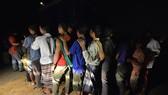 Lao động nhập cư bất hợp pháp bị bắt giữ tại Klang, ngoại ô Kuala Lumpur, Malaysia. Nguồn: TTXVN