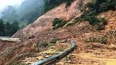 6.000m³ đất đá sạt xuống quốc lộ 4D Lai Châu - Lào Cai