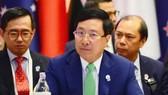 Phó thủ tướng, Bộ trưởng Ngoại giao Phạm Bình Minh dự hội nghị ở Bangkok, Thái Lan. Ảnh: TTXVN
