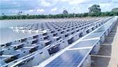 Khu vực nhà máy điện mặt trời ở Sobradinho, Brazil