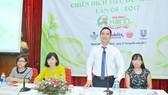 Tổng Giám đốc Sài Gòn Coop Nguyễn Thành Nhân cung cấp thông tin về chiến dịch Tiêu dùng sản phẩm xanh lần 8