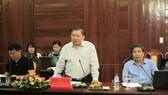 Thứ trưởng Bùi Văn Ga làm việc với tỉnh Quảng Ngãi về công tác thi THPT Quốc gia năm 2017
