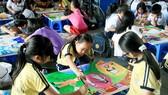 Nét vẽ xanh nuôi dưỡng tâm hồn mỹ thuật trẻ thơ