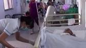Bệnh nhân Long đang được điều trị tại BV Quận Thủ Đức