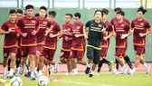 Dưới thời HLV Miura, bóng đá Việt Nam đã tạo được những dấu ấn đáng nể ở sân chơi châu lục. Ảnh: HOÀNG MINH