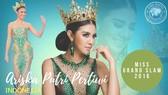 Đương kim Hoa hậu Hòa bình Quốc tế là Hoa hậu đẹp nhất thế giới năm 2016
