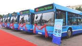 Thêm nhiều xe buýt sử dụng khí nén CNG