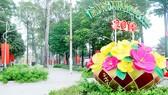 Công viên Văn Lang sau khi được nâng cấp. Ảnh: CAO THĂNG
