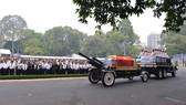 Đông đảo các tầng lớp nhân dân đưa tiễn nguyên Thủ tướng Phan Văn Khải