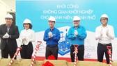 Lễ khởi công không gian khởi nghiệp của Thành Đoàn TPHCM. Ảnh: VGP