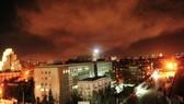 Nổ lớn tại Syria sau khi Tổng thống Mỹ ra lệnh tấn công