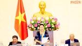 Chủ tịch Quốc hội Nguyễn Thị Kim Ngân chủ trì và phát biểu bế mạc Phiên họp thứ 23 Ủy ban Thường vụ Quốc hội