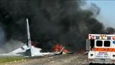 Rơi máy bay quân sự ở Mỹ, toàn bộ 9 người thiệt mạng