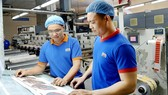 Huỳnh Ngọc Thạch (mang kính) luôn tận tình, chia sẻ kinh nghiệm  công việc với đồng nghiệp