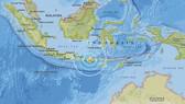 Trận động đất 6,3 độ Richter có tâm chấn sâu 7,9 km ở phía Tây-Tây Nam thị trấn Belanting ở huyện Đông Lombok, Indonesia, ngày 19-8-2018. Nguồn: USGS